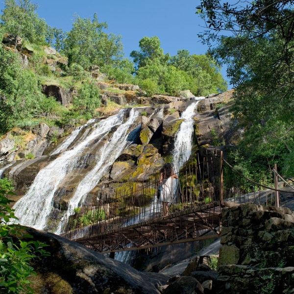 Caozo, Valle del Jerte, cascada, agua, Extremadura