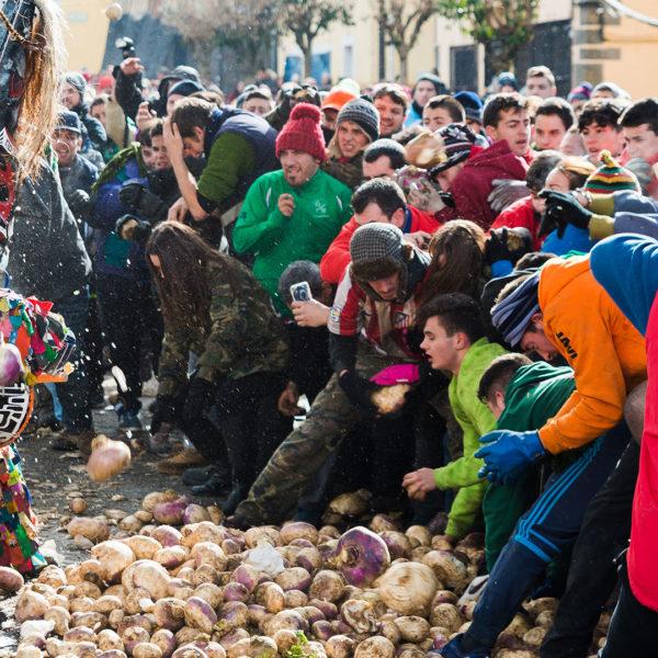 Valle del Jerte Jarramplas Fiesta San Sebastian Piornal Extremadura