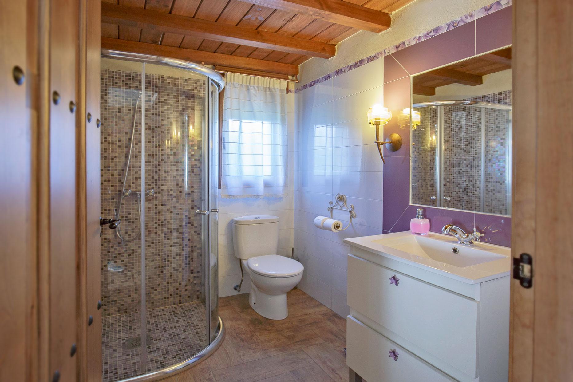 baño casa rural la picota Valle del jerte
