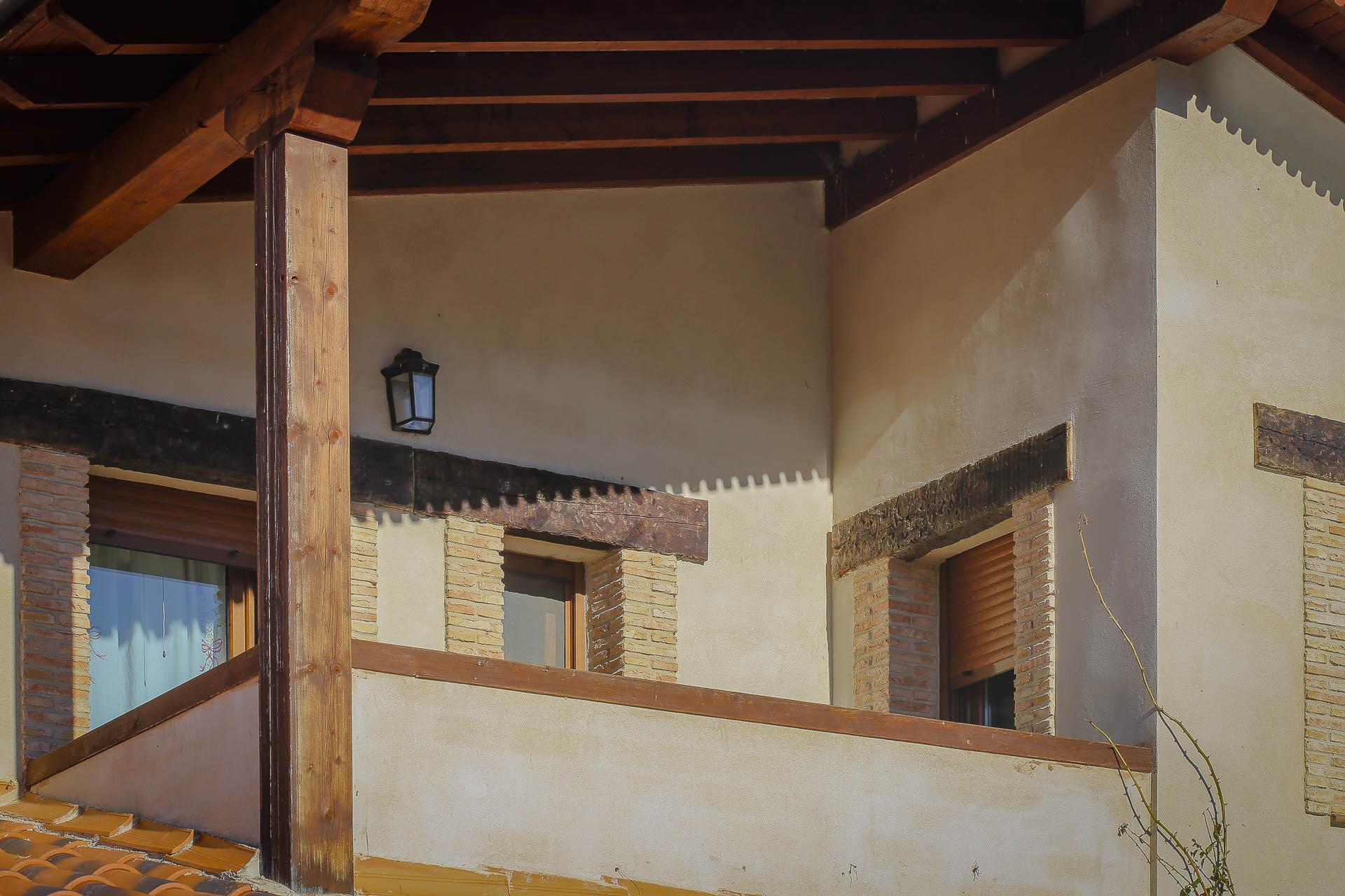 Terraza mirador casa rural valle del jerte